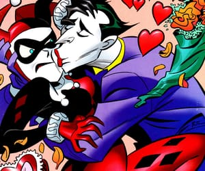 comics, DC, and mad love image
