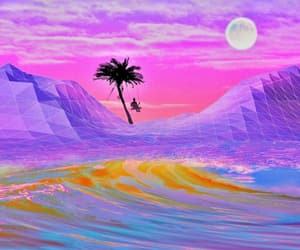 aesthetic, photography, and vaporwave image