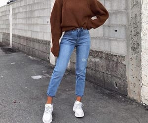 fashion, jeans, and outfits image