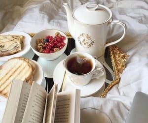 breakfast, food, and tea image