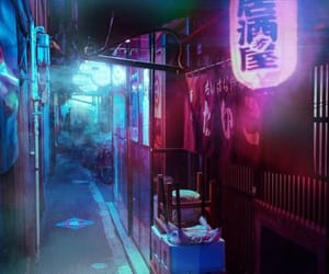 aesthetic, neon, and эстетика image
