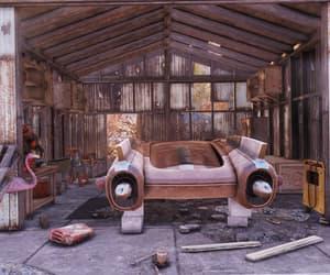 abandoned, apocalypse, and car image