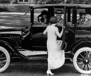 1920, dress, and old image