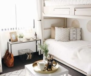 room, interior design, and bedroom image