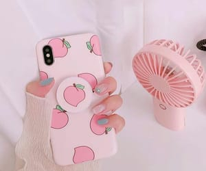 pink, aesthetic, and peach image