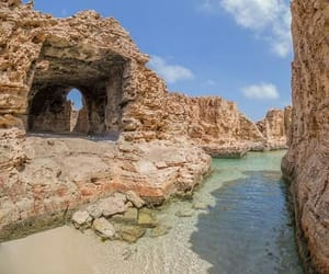 beach, holiday, and Libya image