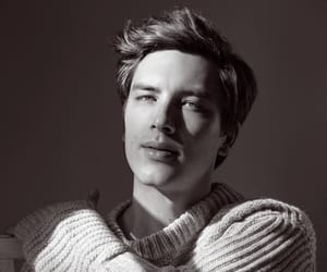 cody fern, black and white, and Hot image