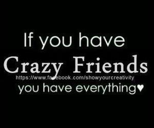 friends, crazy, and everything image
