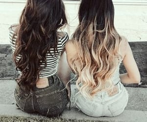 friendship and hairstyles image
