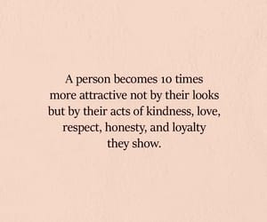 attractive, quotes, and respect image