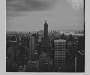 black and white, new york city, and photography image