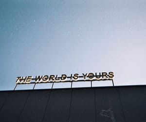 world, quotes, and sky image