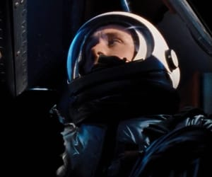 film, outer space, and ryan gosling image