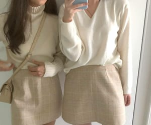 korean fashion and outfit image