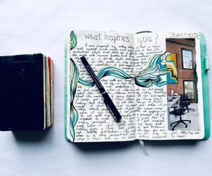 Art Book, books, and journaling image