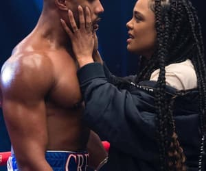 couple, boxing, and creed image