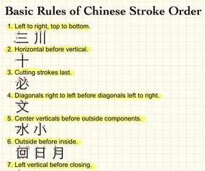 characters, chinese, and chinese writing image