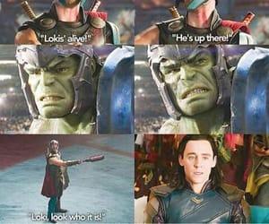 Hulk, loki, and funny image