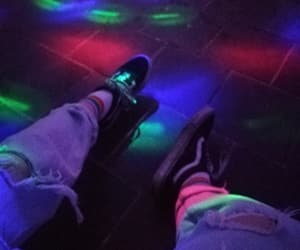 80s, party, and rainbow aesthetic image