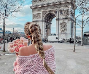 fashion, france, and paris image