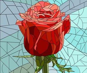 beautiful, blue, and mosaic image
