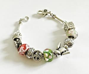 charm bracelet, estate jewelry, and casual jewelry image
