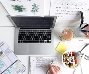 laptop, study, and school image