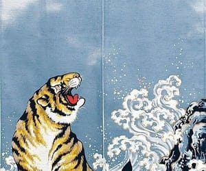 background, tiger, and wallpaper image