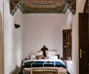 architecture, beauty, and bedroom image