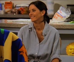 1990, 90s, and Courteney Cox image