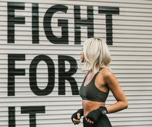 fight, fitness, and workout image