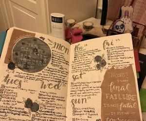 diy, bujo, and bullet journal image