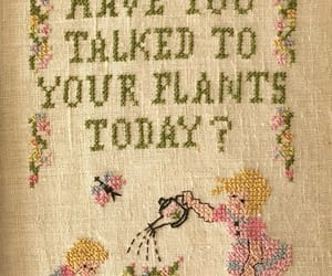 cross stitch, countrycore, and cottagecore image