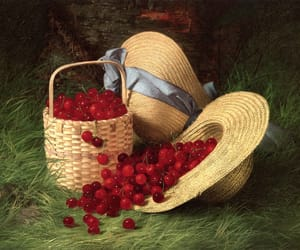 cherry, art, and paint image