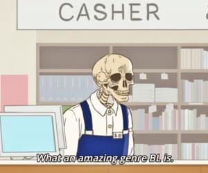 anime, bl, and funny image
