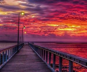 australia, pier, and Queensland image