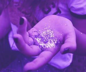 aesthetic, girls, and glitter image