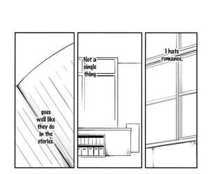 black and white, text, and manga image