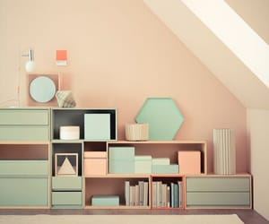 drawer, neat, and pastel image