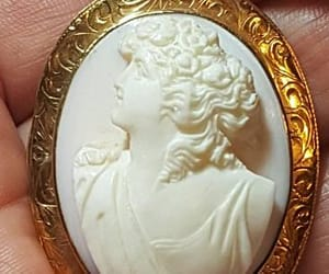 cameo pendant, vintage cameo, and antique cameo image