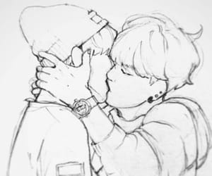 beso, bts, and fanart image