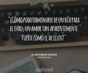 amor, escribir, and frases image