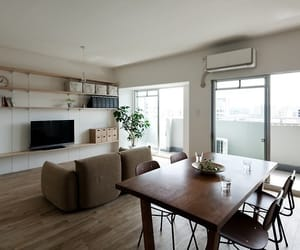 apartment, simple, and interior image