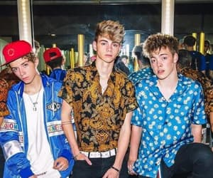 PANIC!, thevamps, and waterparks image