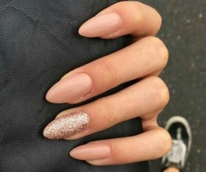 nails, style, and glitter image