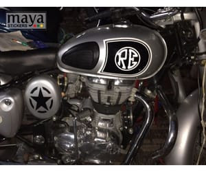 decals, stickers, and motorcycle image