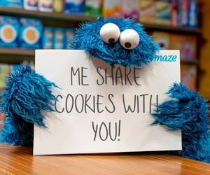 cookie monster and sesame street image