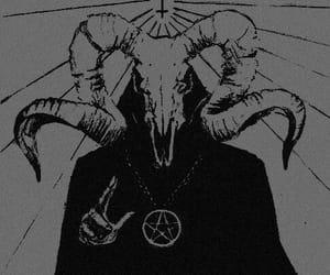 666, dark, and horror image