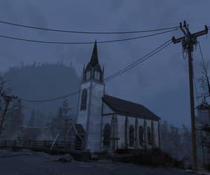 apocalypse, church, and empty image