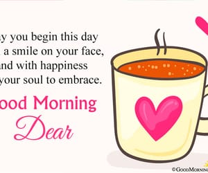 good morning sweetheart, good morning dear, and cute morning images image